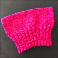 photo of pussyhat for pattern