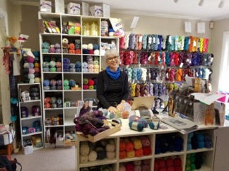 Beth from Knitnstitch Auckland