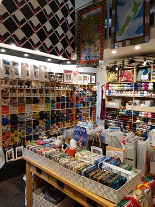New Zealand Fabrics and Yarn Queens St mall Auckland