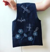 old knitting bag